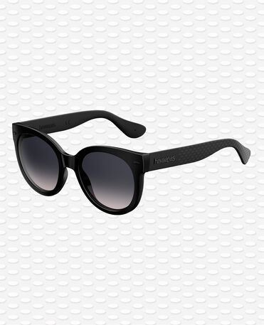 Havaianas Eyewear Noronha Solid Gri - Black Sunglasses Women
