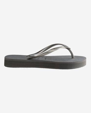 Havaianas Slim Flatform - flip-flops - STEEL GREY - mujer