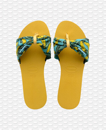Havaianas You St Tropez - city-sandals - GOLD YELLOW - mujer