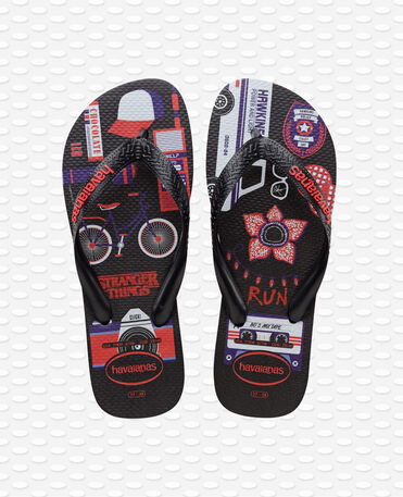 Havaianas Top Stranger Things - Black - Flip flops
