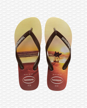 Havaianas Hype - sand grey/dark brown - Flip flops - Men
