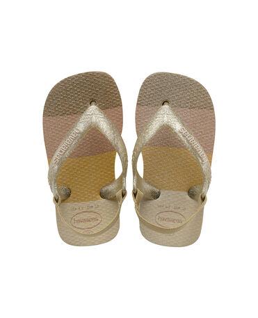 Havaianas Baby Palette Glow - flip-flops - SAND GREY - bebe