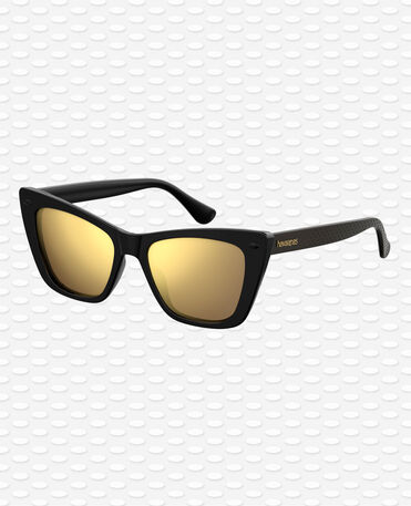 Havaianas Eyewear Canoa Mirrored - Black Sunglasses Women