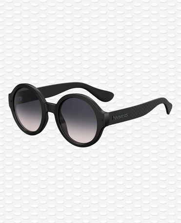 Havaianas Eyewear Floripa Shaded Gri - Black Sunglasses Women