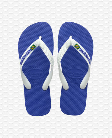 Havaianas Brasil Logo - Infradito - Blu marino