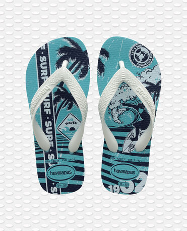 Havaianas Kids Athletic - flip-flops - BLUE - niño