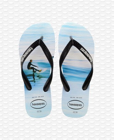 Havaianas Hype - Tongs - blanc / vague - Homme