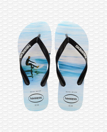 Havaianas Hype - white / wave - Flip flops - Men