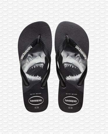Havaianas Top Photoprint - black/black/grey - Flip flops - Men