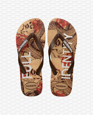 Havaianas - Top Tropical Flip flops - Beige/Brown - Women
