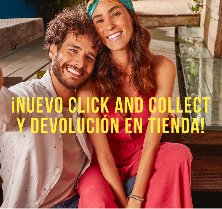 ¡Nuevo click and collect  y devolución en tienda!